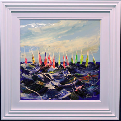 Regatta II by Roz Bell