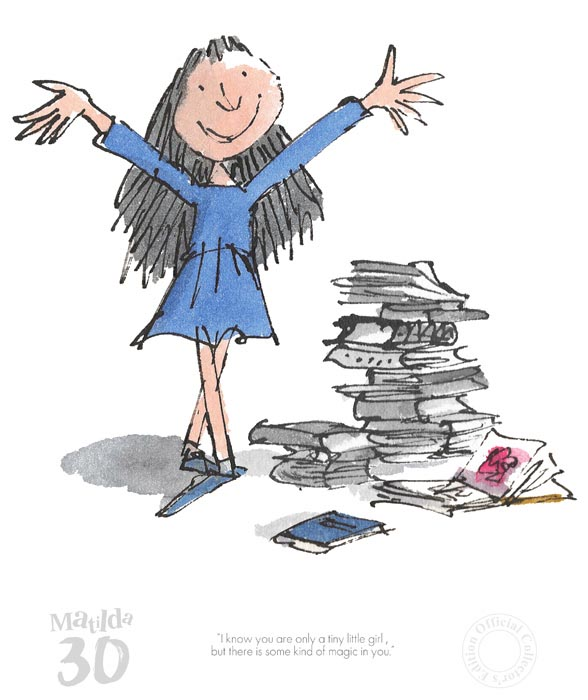 """""""A Kind of Magic in You"""" by Quentin Blake"""