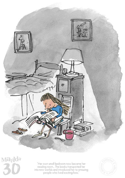 """Her Own Small Bedroom"" by Quentin Blake"