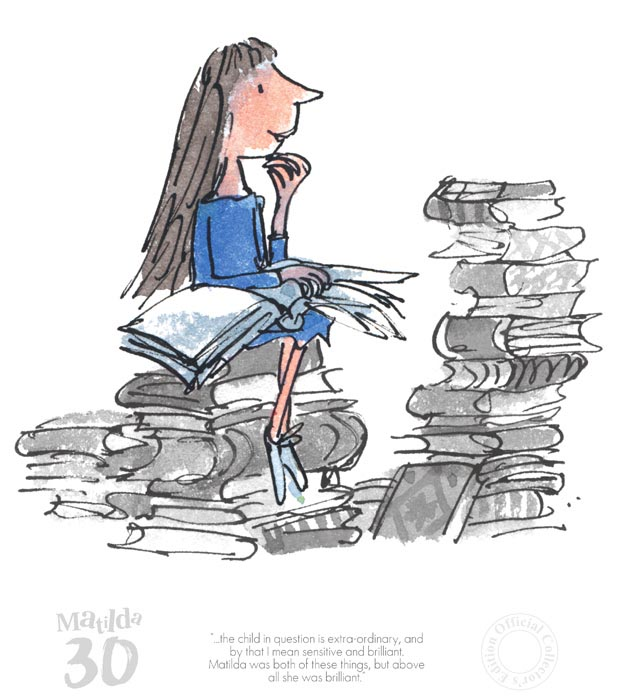 """""""The Child in Question is Quite Extraordinary"""" by Quentin Blake"""