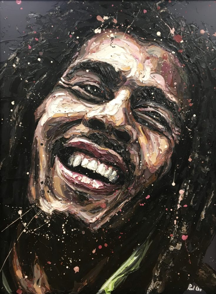 Bob Marley (original) by Paul Oz