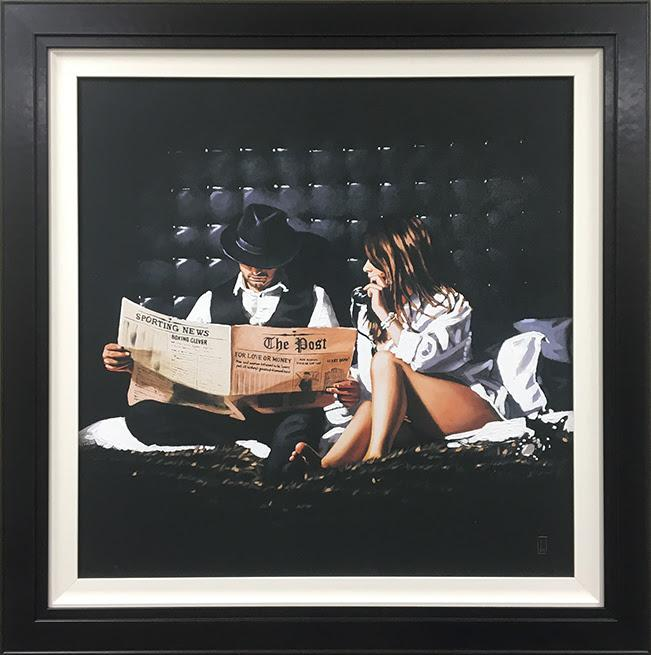 Priceless (canvas) by Richard Blunt