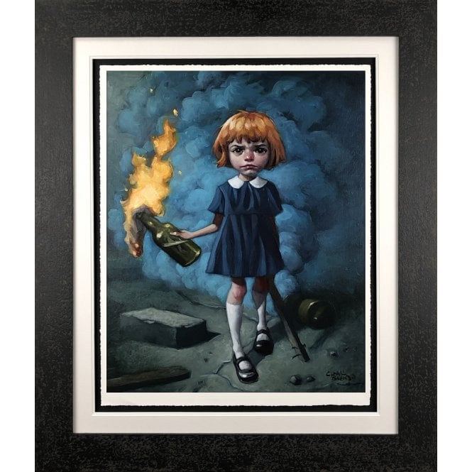 And I'm Never Going to Dance to a Different Song by Craig Davison framed
