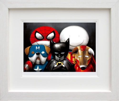 Dream Team! by Doug Hyde framed