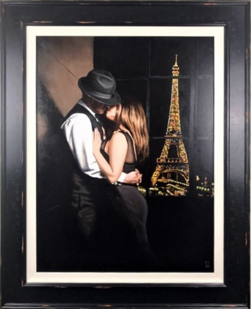 Midnight in Paris (Canvas) by Richard Blunt