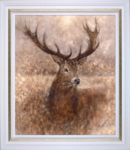 Noble by Gary Benfield framed