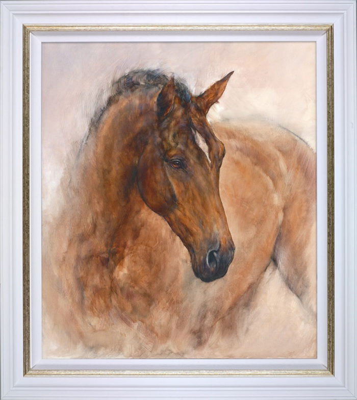 Patience by Gary Benfield framed