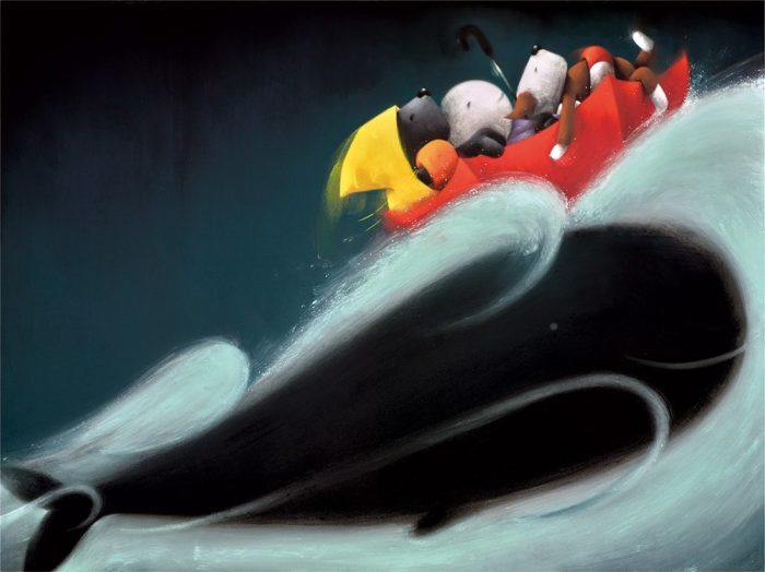 A Whale of a Time by Doug Hyde
