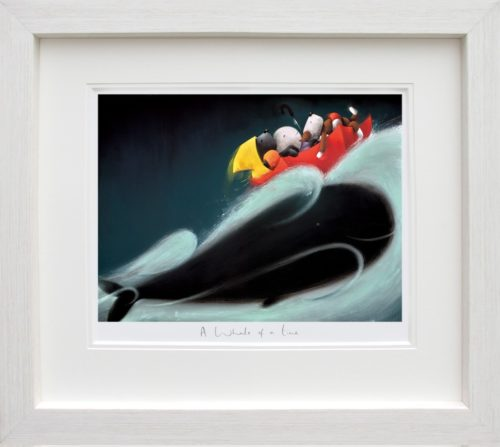 A Whale of a Time framed