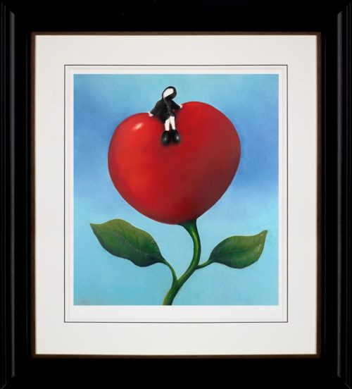 Love and Life by Mackenzie Thorpe framed