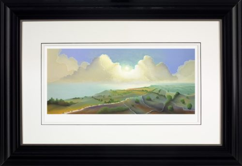 Yorkshire Coast by Mackenzie Thorpe framed