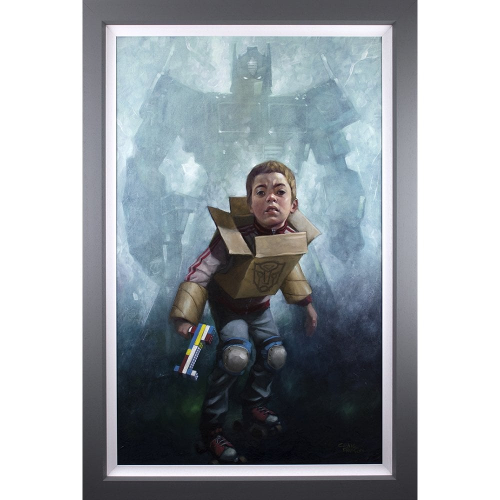 Robert's in Disguise by Craig Davison (canvas)