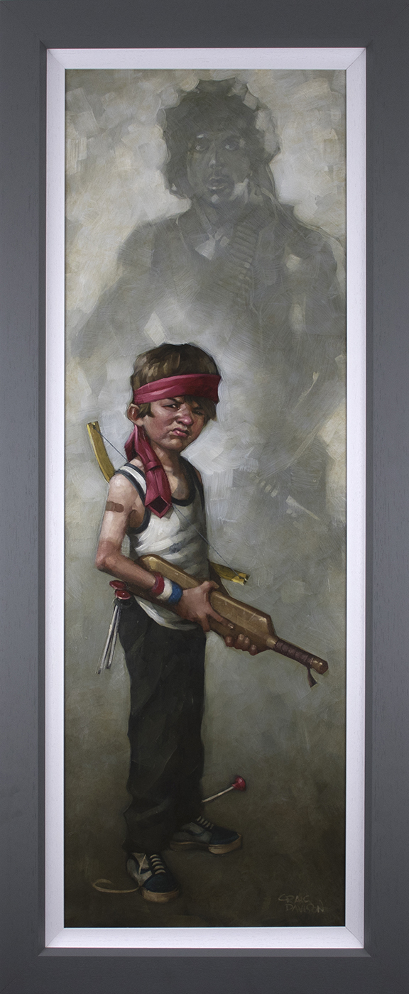 Don't Push It by Craig Davison (canvas)