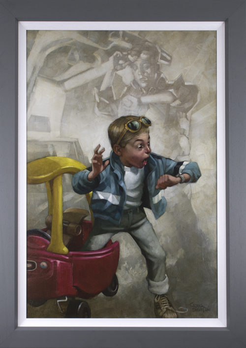 Playtime by Craig Davison (canvas)