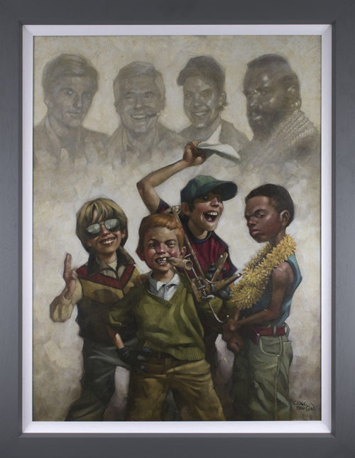 The B-Team by Craig Davison (canvas)