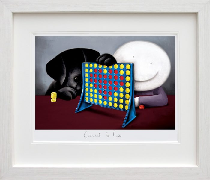 Connect 4 Love framed by Doug Hyde