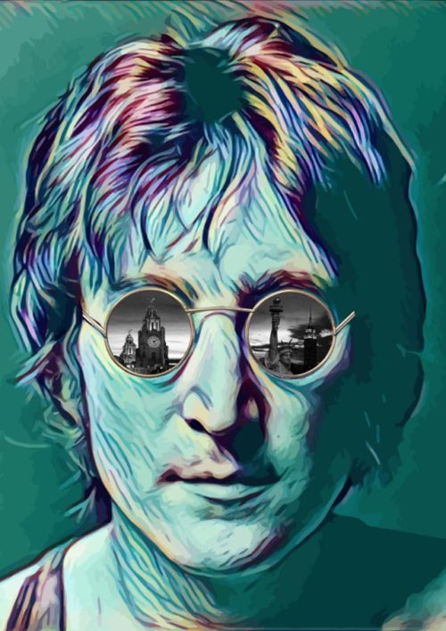Through the Eyes of Lennon (Multicolour) by Paul Johnson