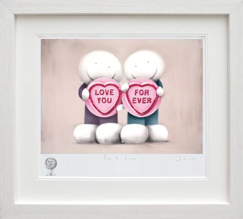 Love You Forever (Remarque) framed by Doug Hyde