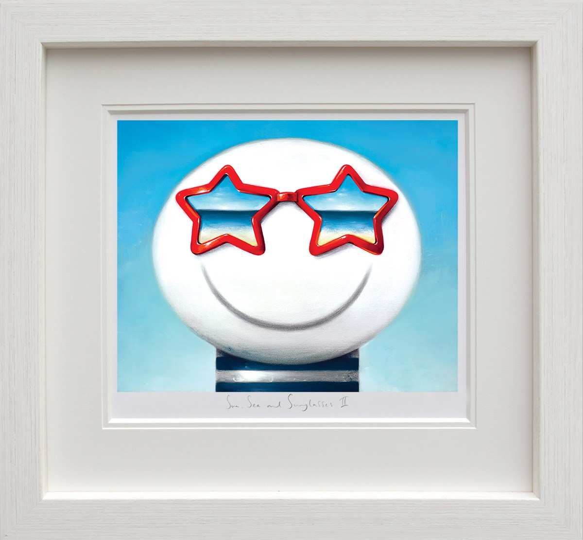 Sun Sea And Sunglasses II by Doug Hyde