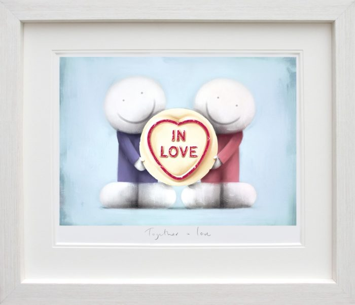 Together in Love framed by Doug Hyde