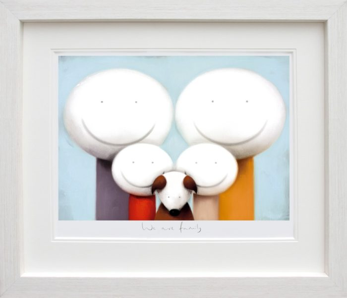 We Are Family framed by Doug Hyde