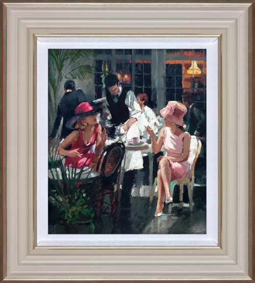 Cafe Royal by Sherree Valentine Daines framed
