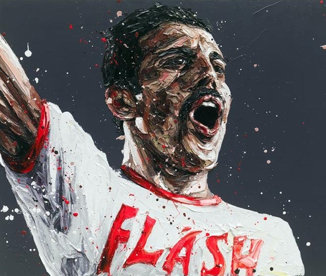 Flash (Freddie Mercury) by Paul Oz