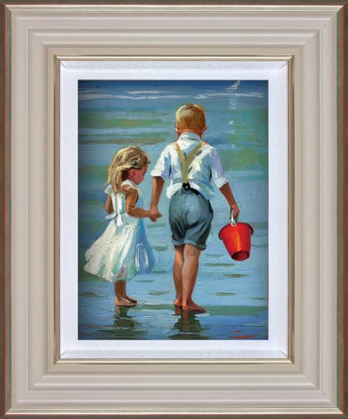 Hold On Tight by Sherree Valentine Daines framed