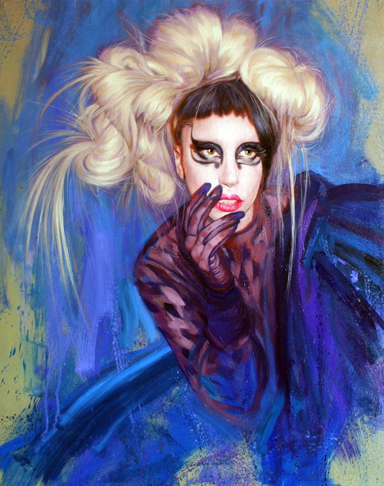 Lady Gaga by Bob Goldsborough