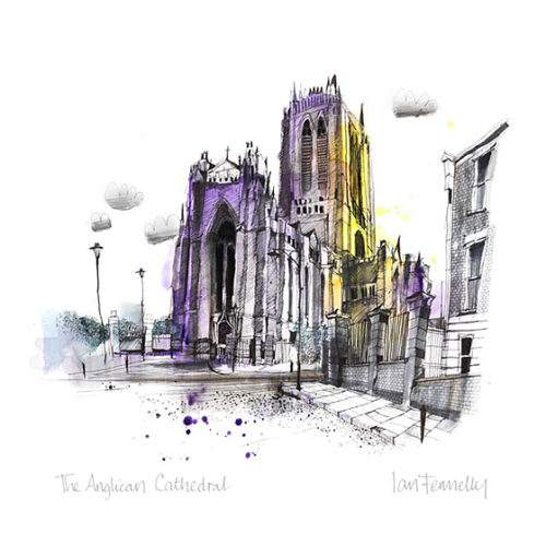 The Anglican Cathedral by Ian Fennelly