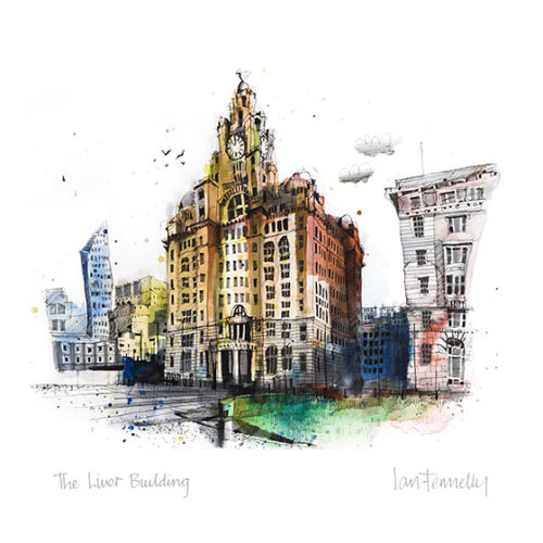 The Liver Building by Ian Fennelly