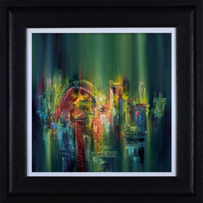 The Lost City by Philip Gray framed