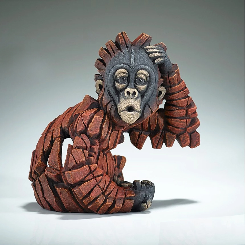 Baby Oh Orangutan by Matt Buckley of Edge Sculptures