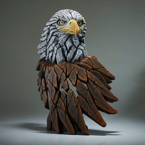 Bald Eagle Bust by Matt Buckley of Edge Sculptures
