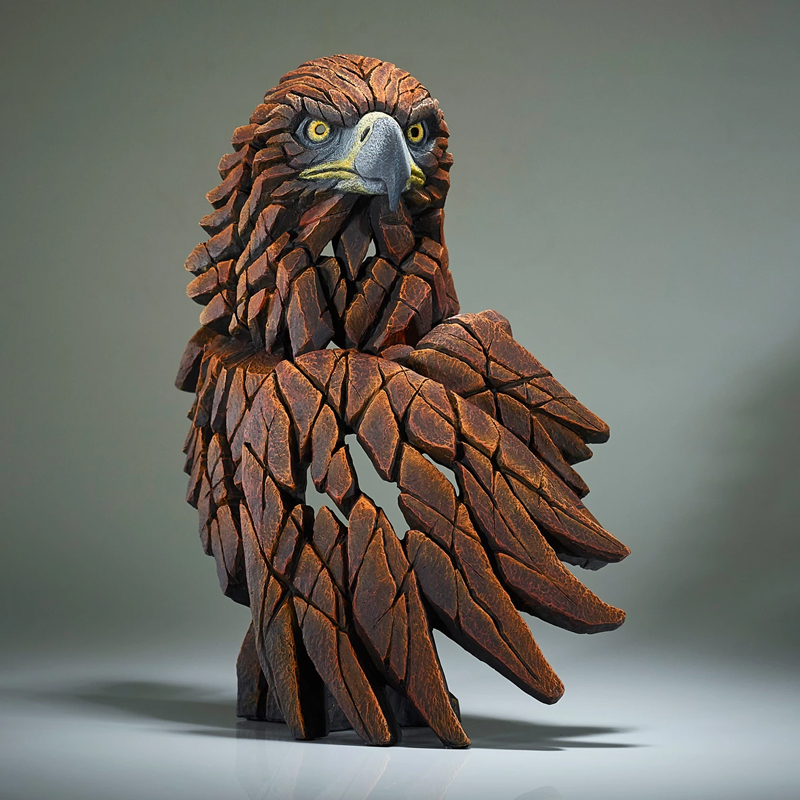 Golden Eagle Bust by Matt Buckley of Edge Sculptures