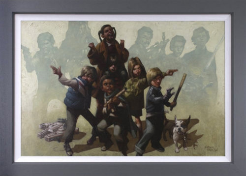 Force It by Craig Davison (canvas)