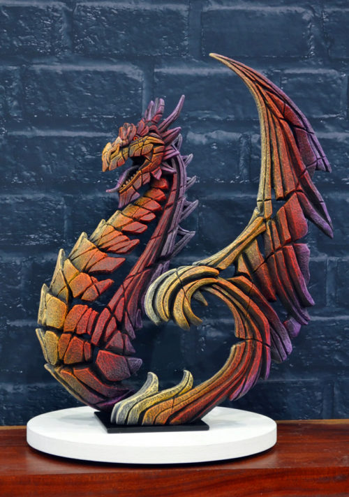 Heraldic Dragon by Matt Buckley of Edge Sculptures