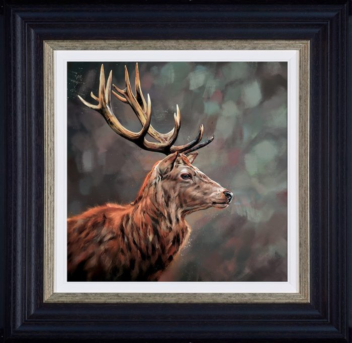 Lord and Master by Debbie Boon framed