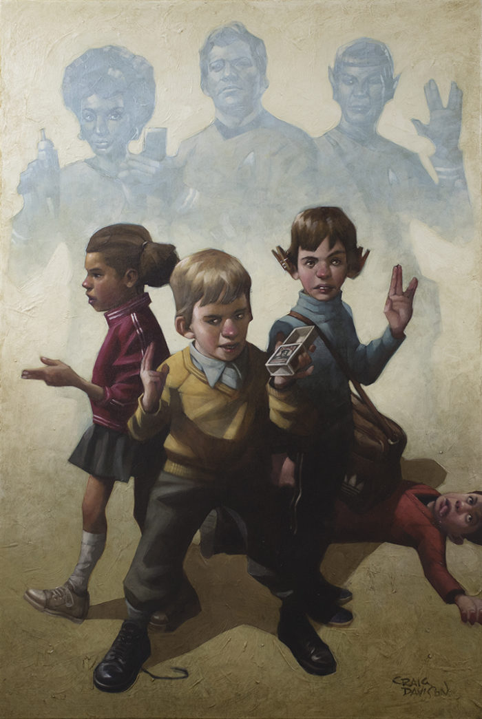 Phasers To Stun by Craig Davison (canvas)