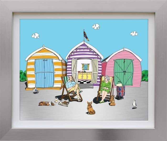A Right Royal Holiday by Dylan Izaak framed