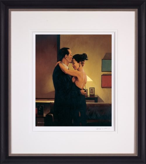 Betrayal - No Turning Back by Jack Vettriano framed