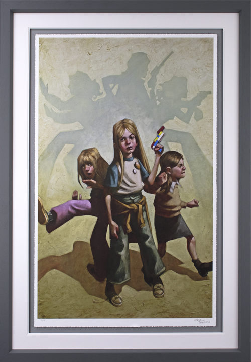 Ok Angels, Lets Get To Work by Craig Davison (paper)