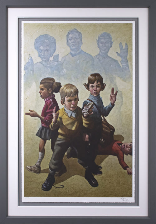 Phasers To Stun by Craig Davison (paper)