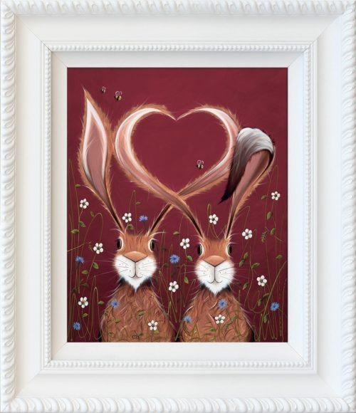 Share the Love framed by Jennifer Hogwood
