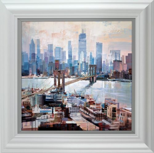 Big City Blues framed by Tom Butler