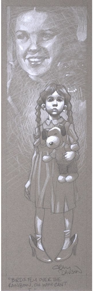 Birds Fly Over The Rainbow, Why Then, Oh Why Can't I (sketch) by Craig Davison
