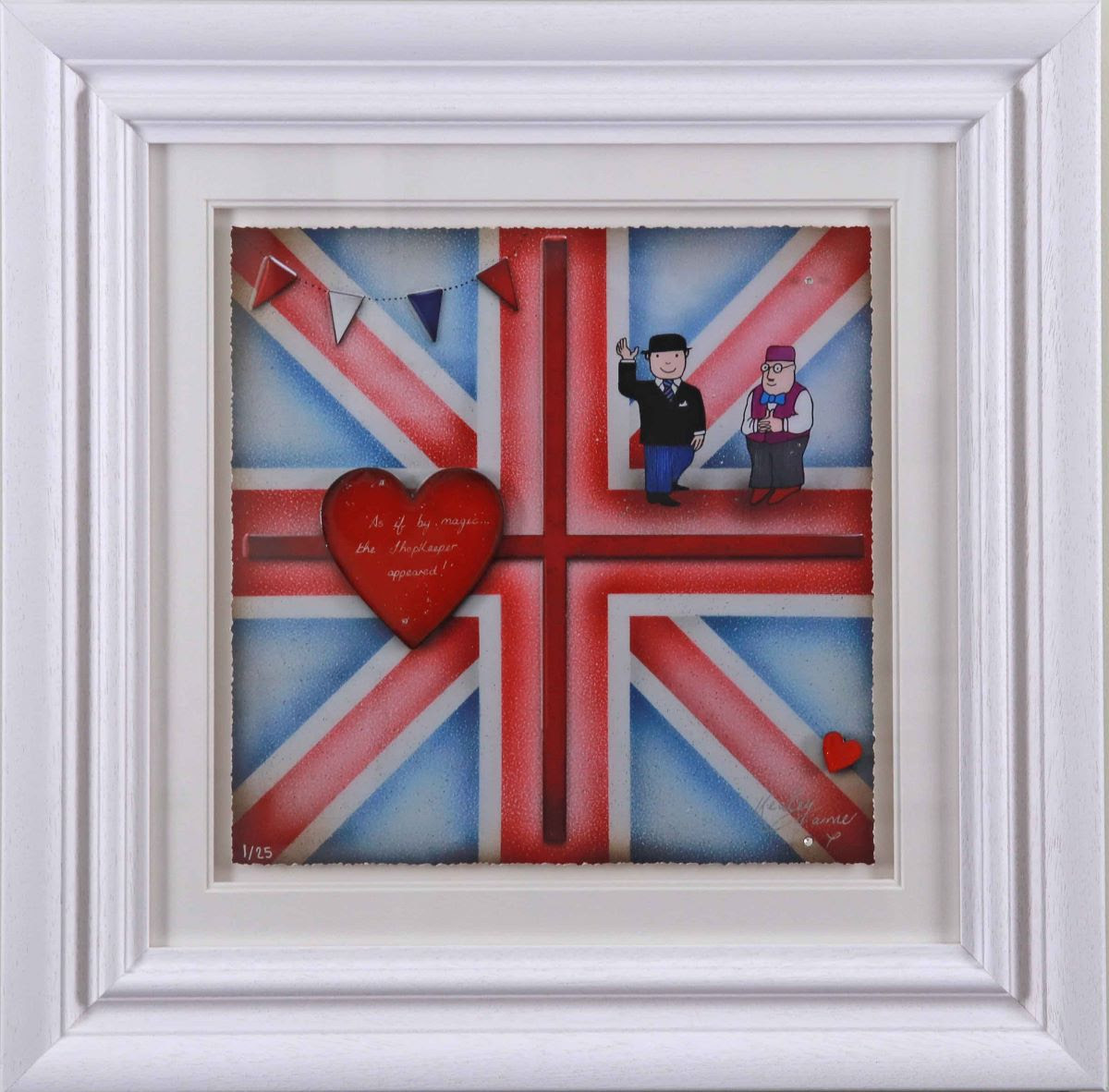 Britannia Mr Benn by Kealey Farmer
