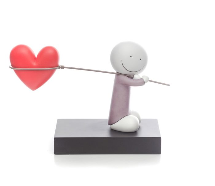 Caught Up In Love statue by Doug Hyde