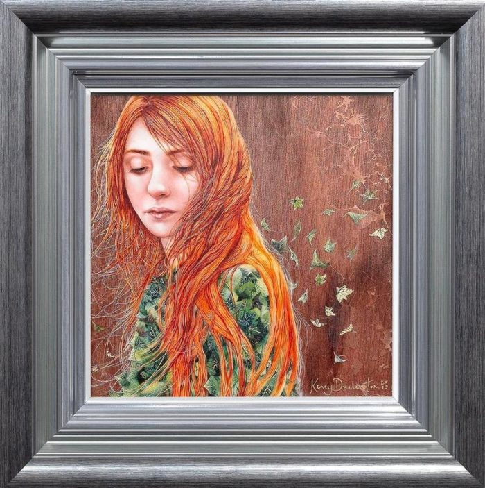 Her Book of Ivy - Boutique Edition by Kerry Darlington framed