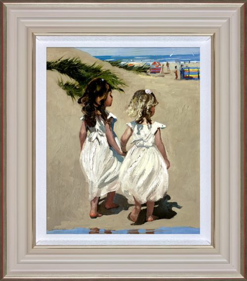 Beach Babies framed